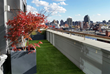Enhance roof decks and patios with artificial grass to create unique outdoor living areas