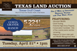 Hall and Hall Announces Two Large Texas Auctions in April 2015