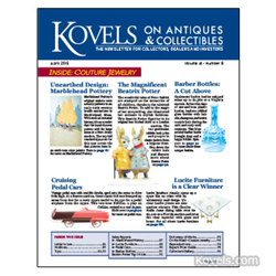kovels, antiques, collectibles, pedal cars, marblehead, couture, lucite, beatrix potter, peter rabbit