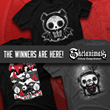 Design by Humans Announces Winners of Skelanimals T-shirt Design Contest