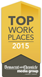 Klein Steel Selected as One of the Top Workplaces in 2015