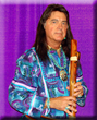 Douglas Blue Feather will perform Native American flutes and teach an instruction workshop.