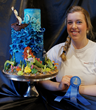 """""""It was awesome to win this award and have a chance to showcase my work,"""" said Amanda Cote."""
