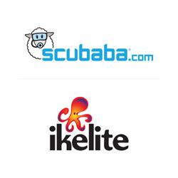 Scubaba.com and Ikelite Logos