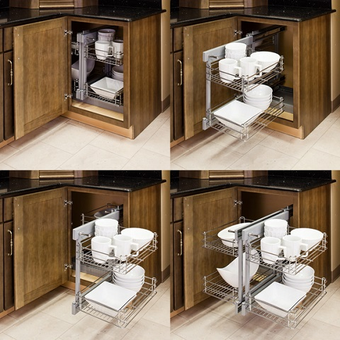 Has Introduced A Guide To Pull Out Cabinet Organizers For A Small Kitchen