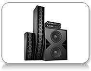 Christie Vive Audio cinema speakers