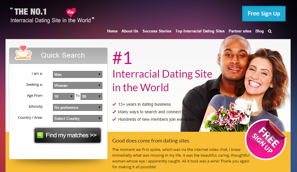 Best free dating site in the world