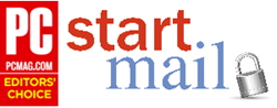 StartMail Wins PCMag Editors' Choice Award