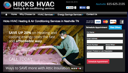 Hicks HVAC Air Conditioning Services