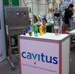 Cavitus BLE demonstration unit at Expopack Guadalajara