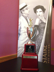 Fred Astaire Dance Studio of Albany's Top Studio Trophy