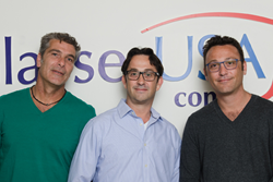 GlassesUSA was founded in 2009 by CEO Daniel Rothman, COO Eldad Rothman, and CTO Roy Yamner.