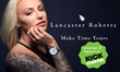 Limited Time Designer Watches by Lancaster Roberts on Kickstarter