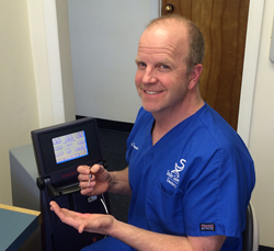 Dr. Daniel C. Stewart of Smile Savers Dentistry in Columbia, MD Demonstrates LANAP® Laser.