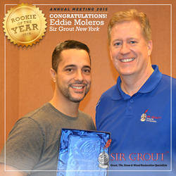 Sir Grout New York Rookie of the Year 2015