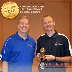 Sir Grout Chicago Grout Man Year 2015
