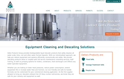 Delta Products Group website launch