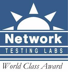 Network Testing Labs World Class Award