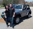 Medals of America's Veteran Jeep Sweepstakes Winner