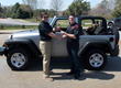 Afghanistan Veteran gets the keys to his new Jeep from Medals of America.