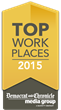 Leading SaaS Company, CaterTrax, Named in 2015 Top Workplaces