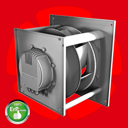 Backward-curved fans, blowers, air movers, ventilation, cooling, data centers, HVAC, air conditioning, heating