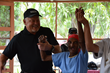 Bob Parsons Dances with 102 Year Old Haitian Woman at Foyer in Les Cayes