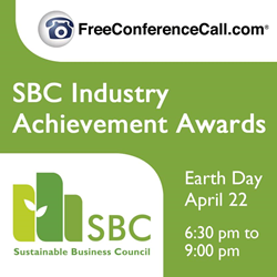 Sustainable Business Council and FreeConferenceCall.com