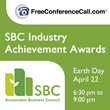 Sustainable Business Council and FreeConferenceCall.com to Honor the...