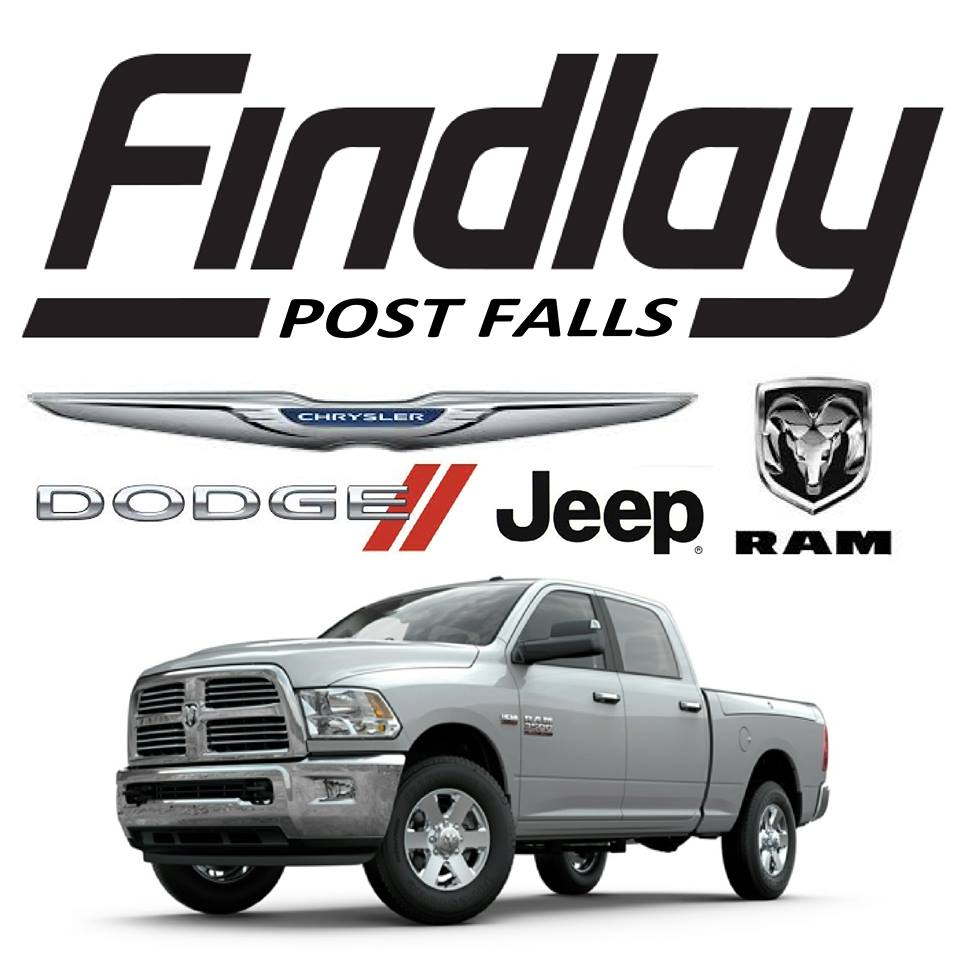 findlay chrysler jeep dodge ram awarded best auto dealership in north idaho parker toyota and. Black Bedroom Furniture Sets. Home Design Ideas