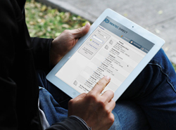 Online leasing for property management software