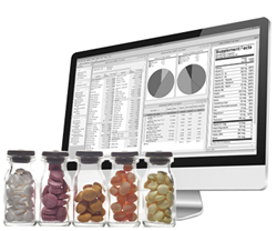 Genesis R&D supplement formulation software