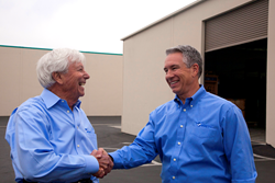 Water, Inc./Premier Products Distribution Company Founder, Major Avignon and newly appointed President and COO, Rick Tarantino.