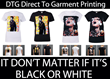 DTG Direct To Garment Full Colour Tshirt Printing