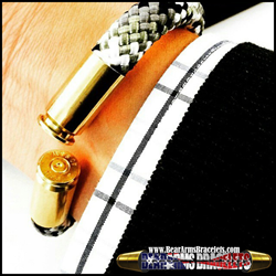 BearArms Bullet Casings Bracelets The Original 2nd Amendment and Military Jewelry