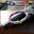 American Flag BearArms Bullet Bracelet with a Glock 23