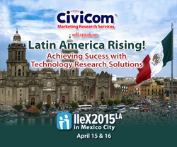 Civicom to Speak at IIeX Mexico City on Latin America Rising in Marketing Research