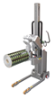 Roll Handing Equipment With Fully Motorised Vertical Spindle Lifting Attachment