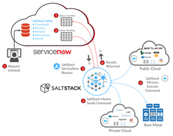 SaltStack orchestration for ServiceNow