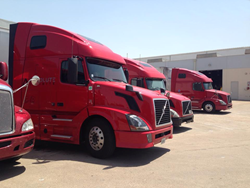 Absolute Exhibits' Truck Fleet