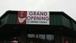 Corner Cup Coffeehouse in Stow, Ohio celebrates grand opening