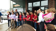 Ribbon cutting at Corner Cup Coffeehouse in Stow Ohio