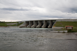 Yellowtail Afterbay Dam