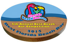 5th Annual Top 10 Florida Beach Bar Award