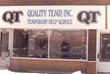 Storefront of one of the first Doherty office locations (originally named Quality Temp) in the Minneapolis area.