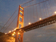 Relax onboard an Angel Island Ferry San Francisco Bay Sunset Cruise.