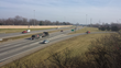 Sound walls in place along Interstate 70 in Ohio:  The sound walls provide both a pleasing form and noise abatement function to protect the adjoining communities from excess highway noise.