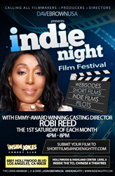 Casting Director Robbi Reed partners with INDIE NIGHT Film Festival to discover the next generation of top actors