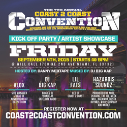 CONVENTION KICK OFF EDITION 9/4/15