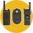 All Motorola CLP, CLS and RM Series radios meet military standards for shock, vibration, temperature and antimicrobial protection.